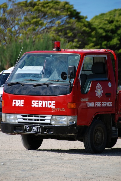 Fire Brigade on Lifuka Island
