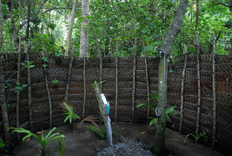 Our Outdoor Shower - Serenity Beach
